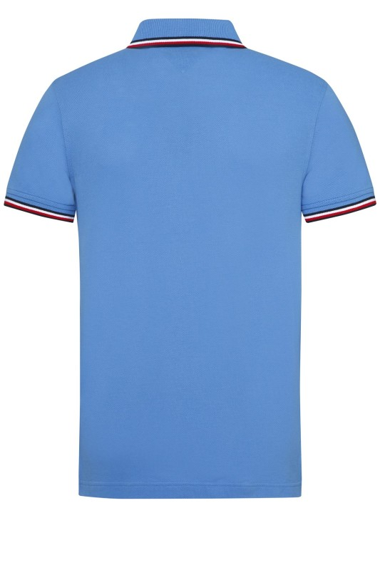 Tommy Hilfiger polo slim fit blauw