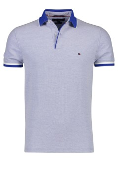 Tommy Hilfiger regular fit polo koningsblauw