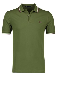 Fred Perry polo groen korte mouw