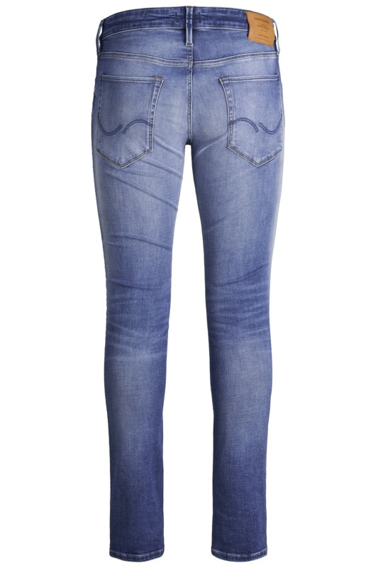 Jack & Jones skinny fit jeans 5-pocket blauw