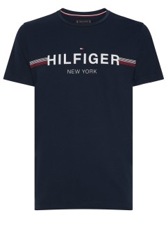 Tommy Hilfiger t-shirt Big & Tall donkerblauw