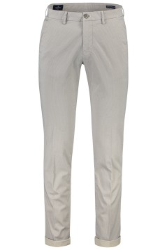 Mason's chino slim fit stretch omslag creme print