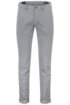 Mason's chino slim fit stretch grijs print omslag