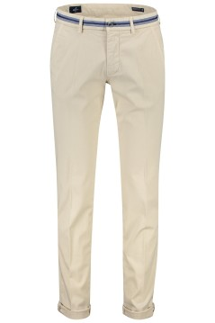 Mason's slim fit chino creme stretch