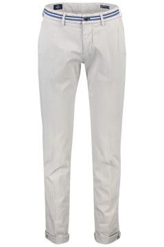 Mason's stretch chino slim fit grijs