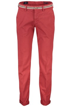 Mason's chino slim fit rood stretch katoen