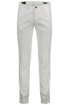 Mason's chino linnen stretch wit slim fit