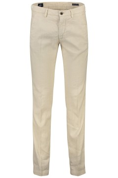 Mason's linnen chino slim fit creme stretch
