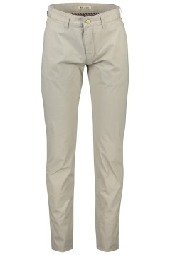 Mac Lennox pantalon beige katoen stretch