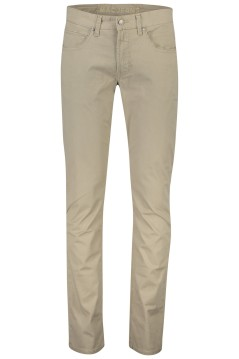 Mac pantalon 5-pocket Arne Pipe beige modern fit