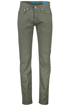 5-pocket broek Pierre Cardin groen Lyon Tapered