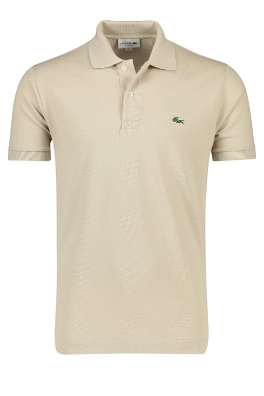 cheap for discount ceb40 2148f Lacoste polo beige classic fit katoen
