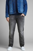 Jack & Jones Plus Size jeans grijs slim fit