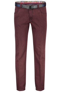 Meyer Dubai pantalon bordeaux 5-pocket modern fit