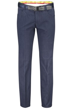 Meyer pantalon Dubai 5-pocket donkerblauw