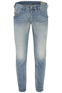 Diesel 5-pocket jeans Bazer blauw stretch