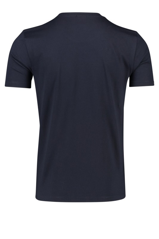 T-shirt Hugo Boss Lecco navy regular fit o-hals