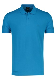 Hugo Boss poloshirt Piro regular fit blauw