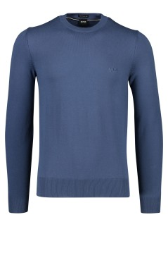 Hugo Boss Pacas trui ronde hals royal blue