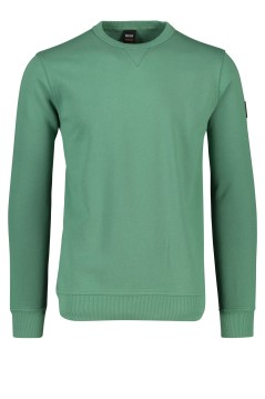 Hugo Boss sweater Walkup groen ronde hals