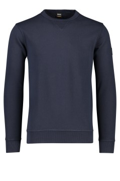 Hugo Boss Walkup sweatshirt donkerblauw o-hals