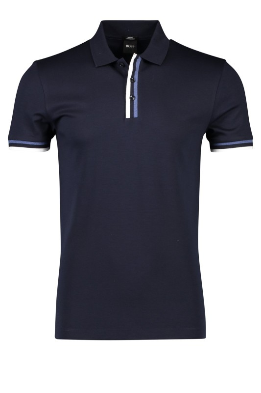 Hugo Boss Phillipson poloshirt slim fit navy