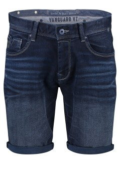 Vanguard denim shorts V7 5-pocket donkerblauw
