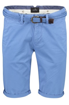 Vanguard chino shorts lichtblauw slim fit