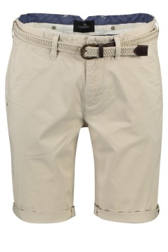 Vanguard chino shorts beige slim fit met riem