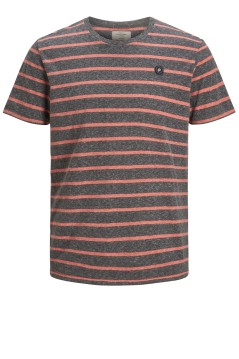 Jack & Jones Plus Size t-shirt antraciet o-hals