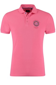 New Zealand Karoro poloshirt roze