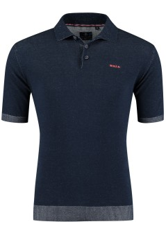 New Zealand poloshirt Hakanoa navy