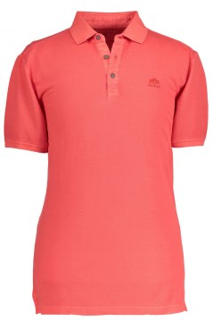 State of Art polo oranjerood effen