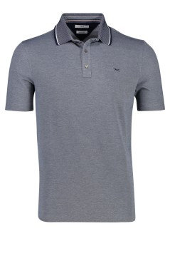 Poloshirt Brax Easy Care structuur donkerblauw