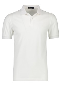 Fred Perry poloshirt katoen wit