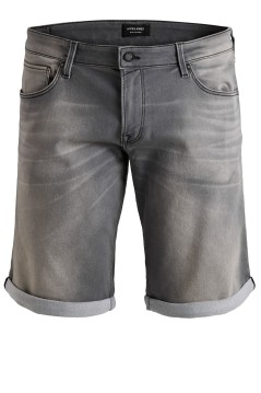 Jack & Jones Plus Size shorts denim grijs