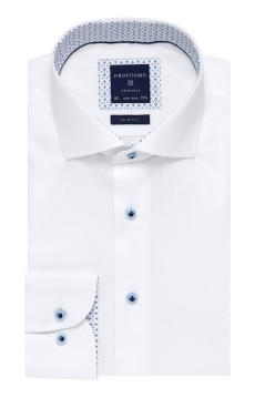 Overhemd Profuomo Originale Slim Fit strijkvrij