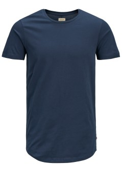 Jack & Jones Plus Size t-shirt navy ronde hals