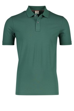 Olymp polo groen stretch Level 5 body fit