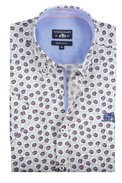 State of Art shirt groen all over print