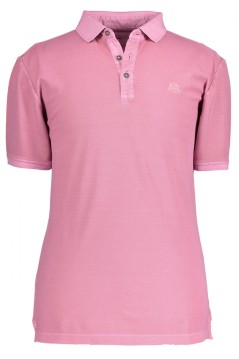 Poloshirt State of Art roze regular fit