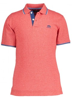 State of Art polo oranje rood met logo