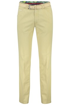 Meyer Chicago broek lichtgeel 5-pocket stretch