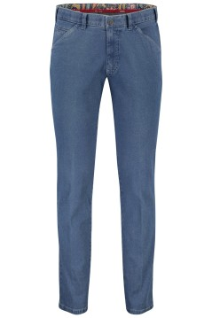 Meyer pantalon Chicago jeans blauw