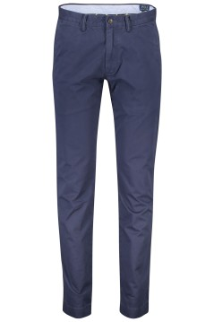 Ralph Lauren broek flatfront stretch slim fit navy