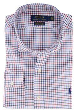 Ralph Lauren shirt geruit Custom Fit