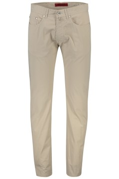 Pierre Cardin broek Lyon Modern Fit beige 5-pocket