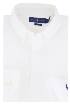 Ralph Lauren shirt linnen wit Big & Tall