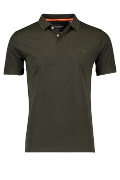 Superdry polo legergroen