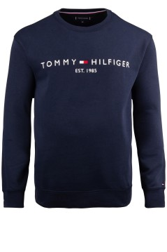 Tommy Hilfiger Big & Tall logo sweater donkerblauw